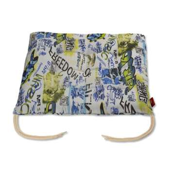 Charles seat pad with ties in collection Freestyle, fabric: 135-08