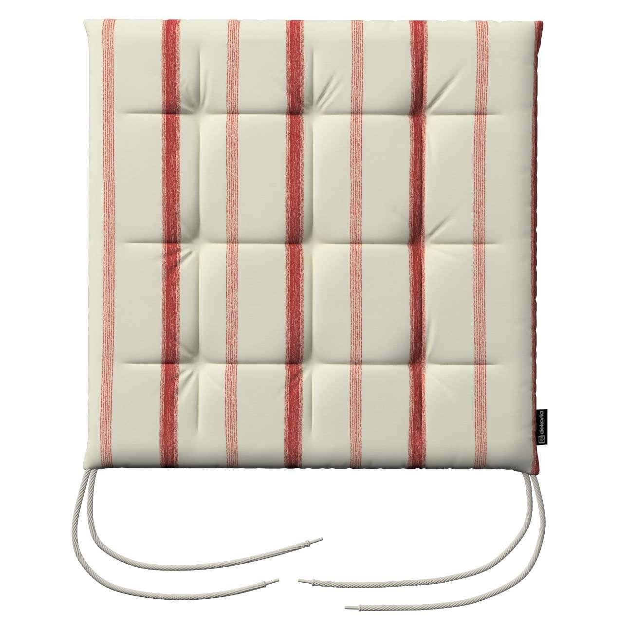 Siedzisko Karol na krzesło 40x40x3,5cm w kolekcji Avinon, tkanina: 129-15