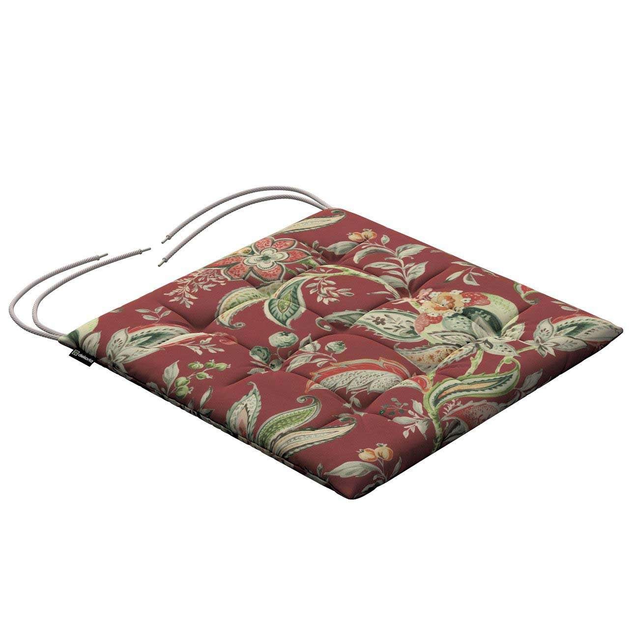 Siedzisko Karol na krzesło w kolekcji Gardenia, tkanina: 142-12