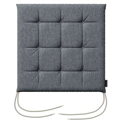 Charles seat pad with ties 704-86 graphite - gray Collection City