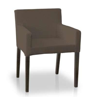 Sukienka na krzesło Nils 705-08 brązowy Kolekcja Etna