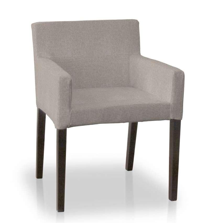 Návlek na stoličku s opierkami Nils V kolekcii Etna, tkanina: 705-09