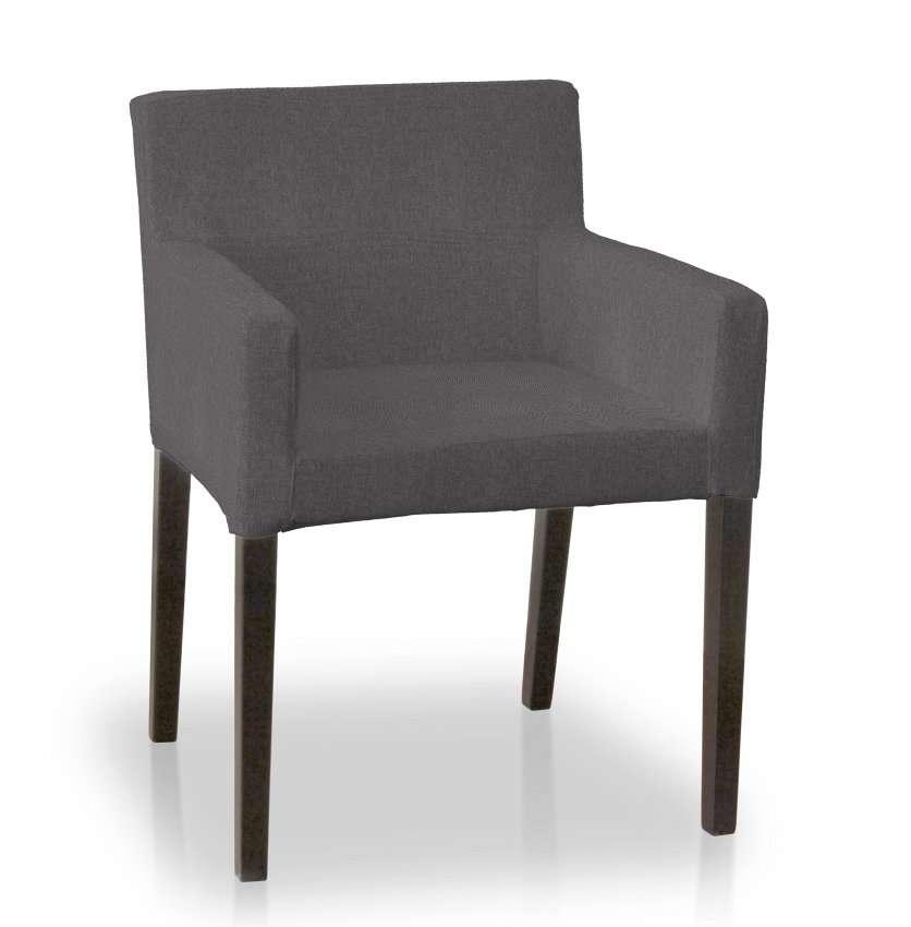 Návlek na stoličku s opierkami Nils V kolekcii Etna, tkanina: 705-35