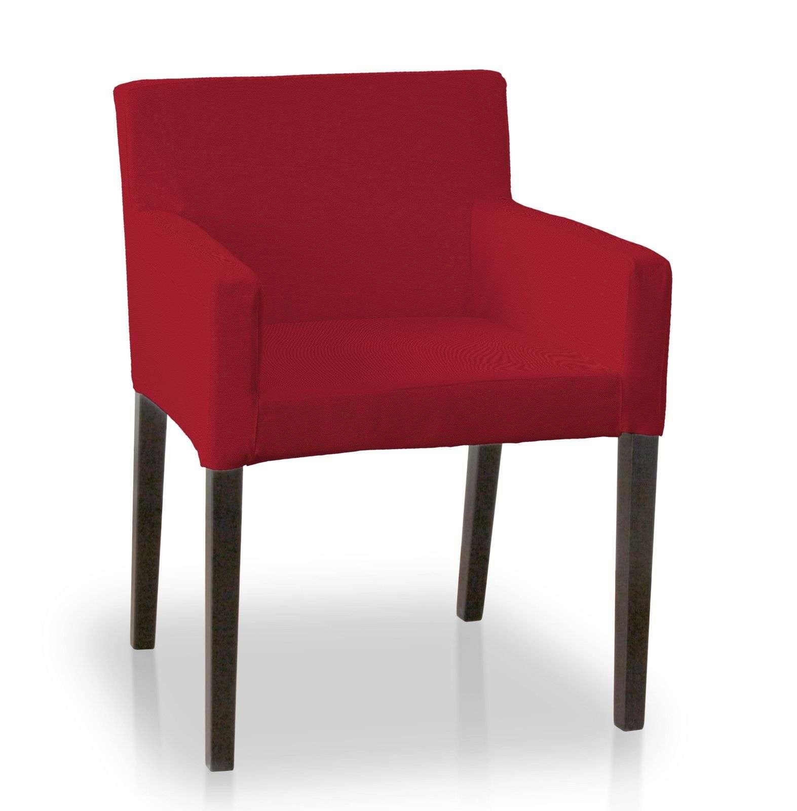 Návlek na stoličku s opierkami Nils V kolekcii Etna, tkanina: 705-60