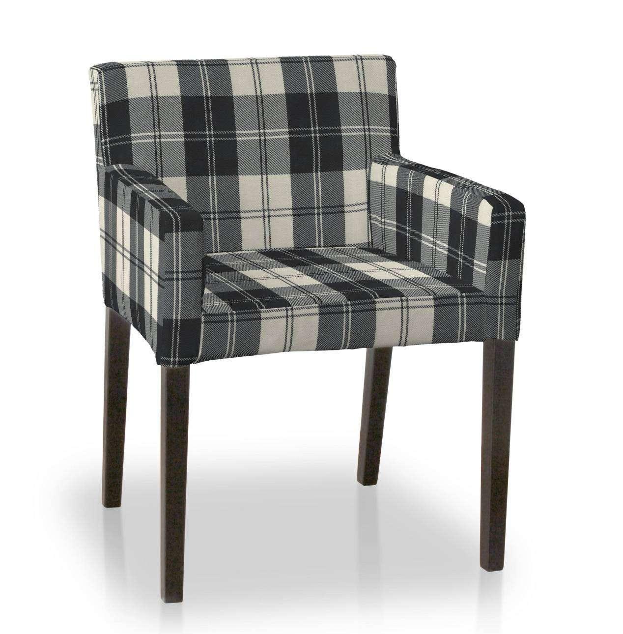 Návlek na stoličku s opierkami Nils V kolekcii Edinburg, tkanina: 115-74