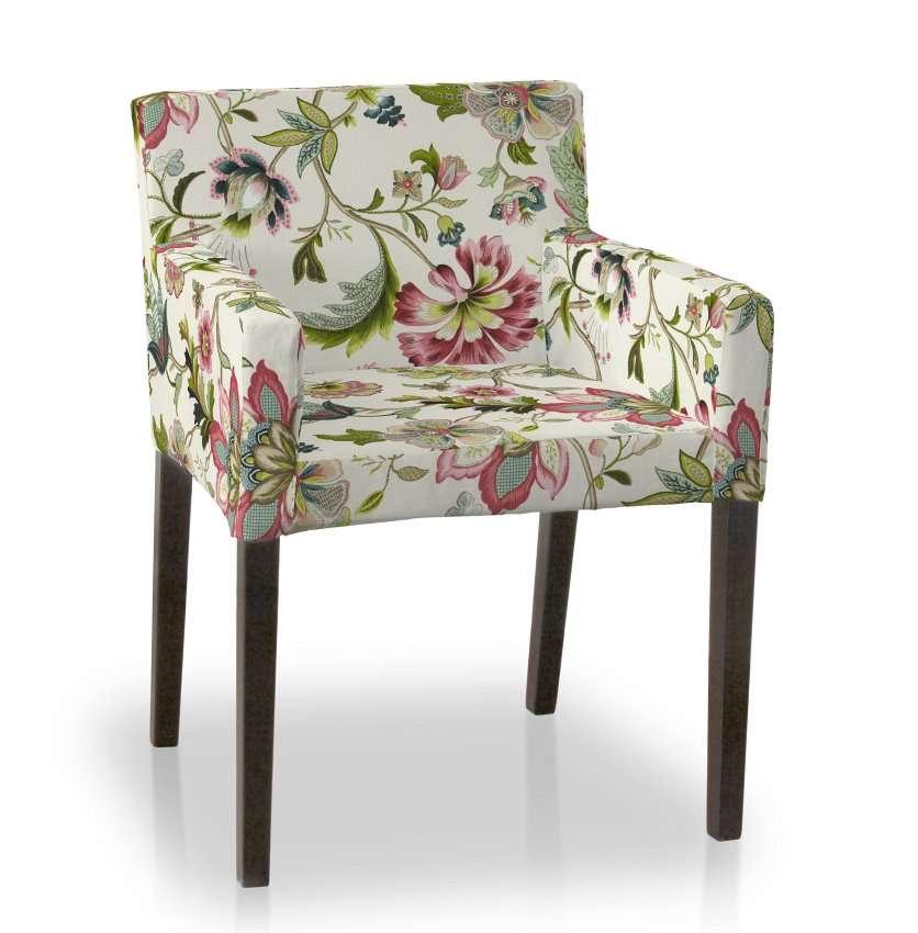 Sukienka na krzesło Nils krzesło Nils w kolekcji Londres, tkanina: 122-00