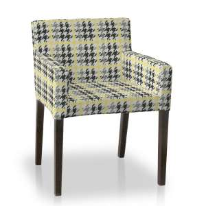 Sukienka na krzesło Nils krzesło Nils w kolekcji Brooklyn, tkanina: 137-79