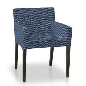 Sukienka na krzesło Nils krzesło Nils w kolekcji Brooklyn, tkanina: 137-88