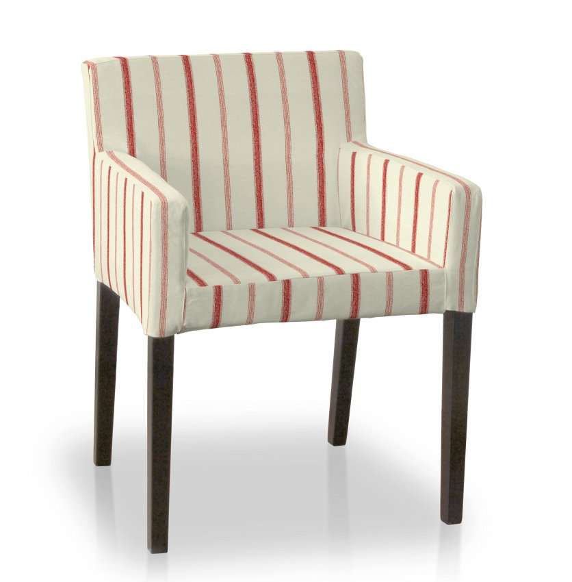 Nils chair cover in collection Avinon, fabric: 129-15