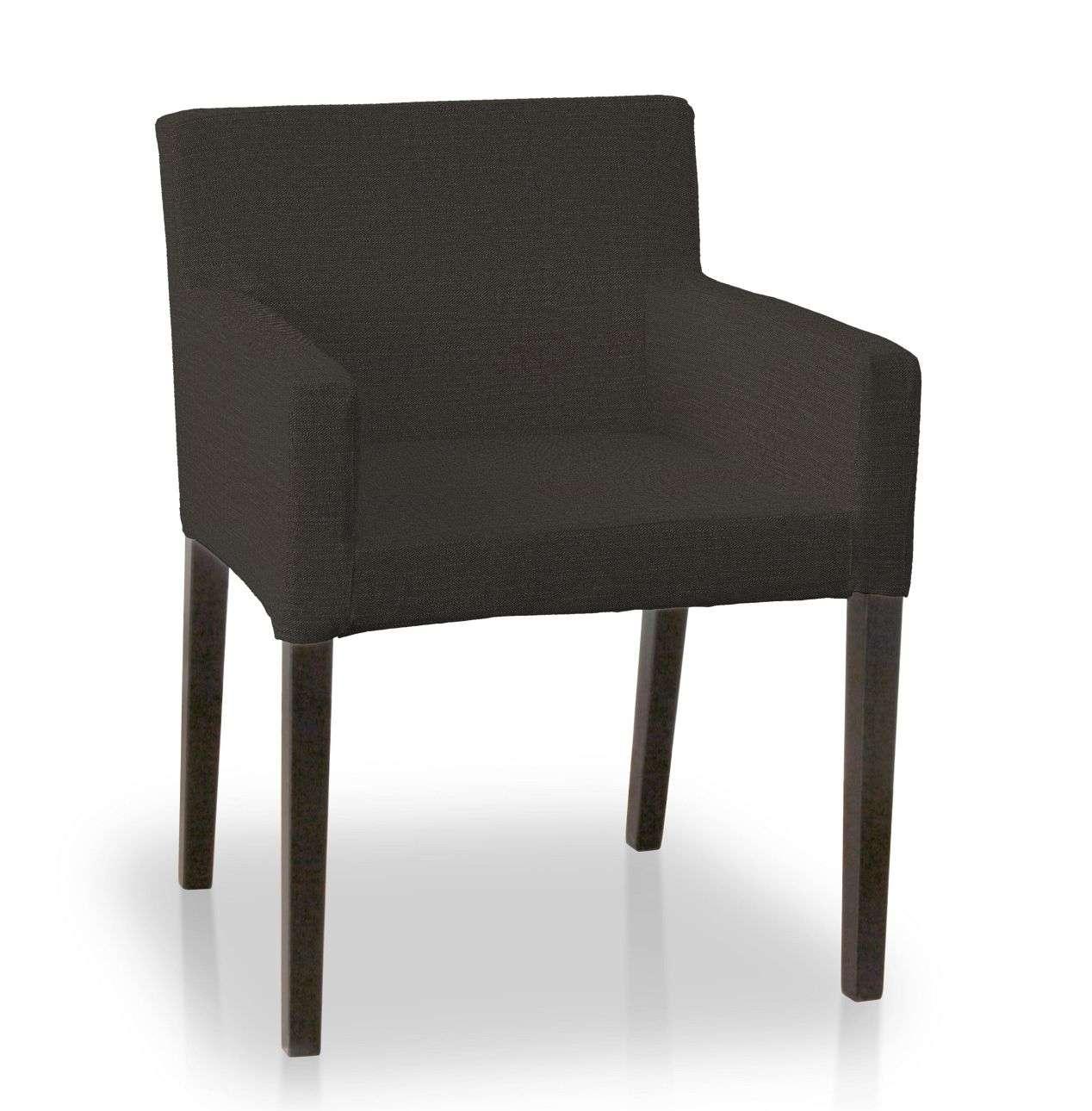 Návlek na stoličku s opierkami Nils V kolekcii Etna, tkanina: 702-36