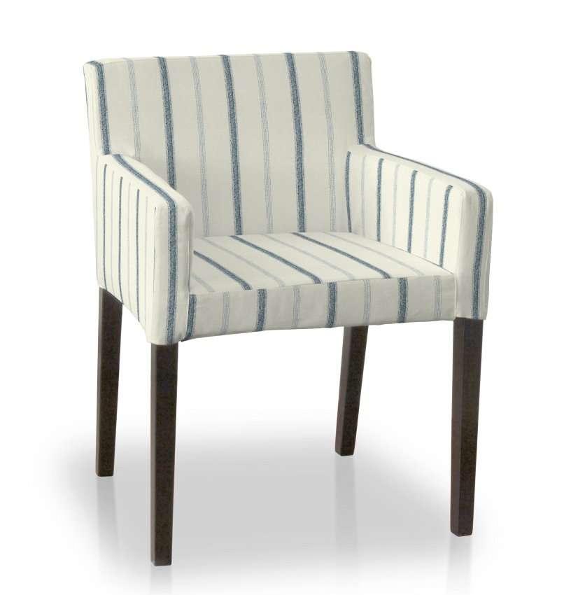 Sukienka na krzesło Nils krzesło Nils w kolekcji Avinon, tkanina: 129-66