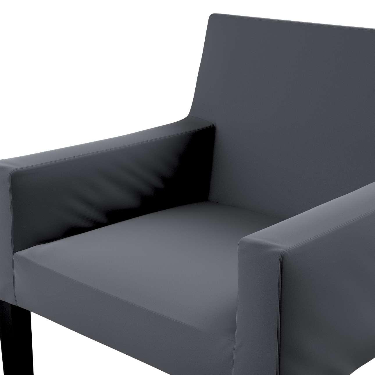 Návlek na stoličku s opierkami Nils V kolekcii Velvet, tkanina: 704-12