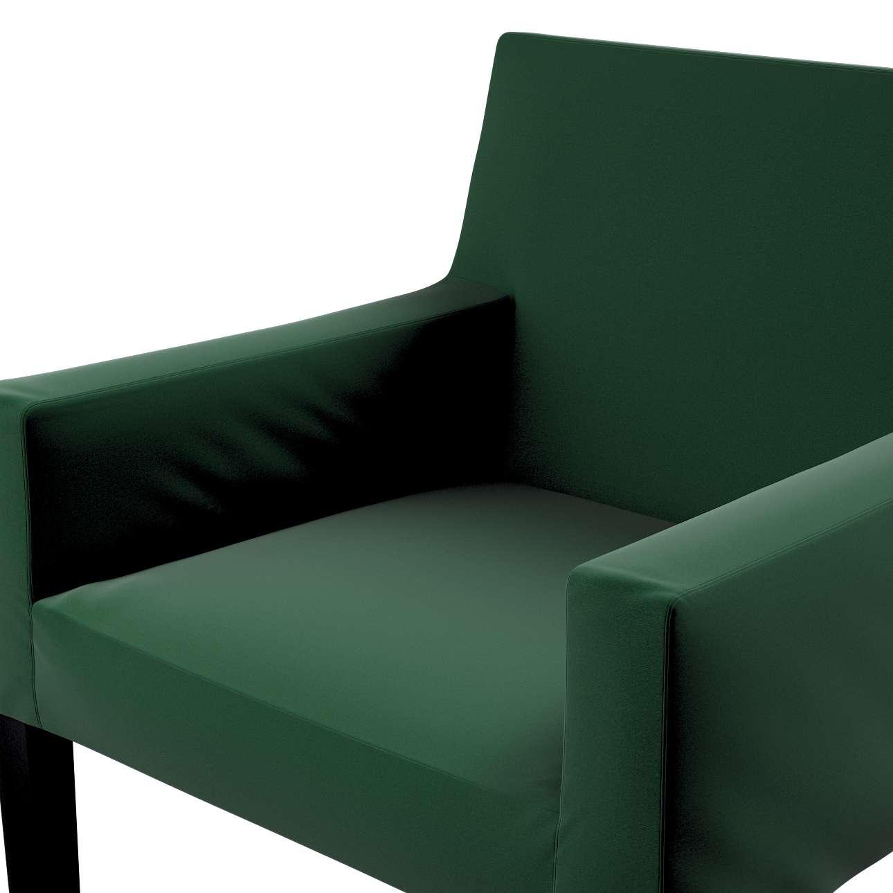 Návlek na stoličku s opierkami Nils V kolekcii Velvet, tkanina: 704-13