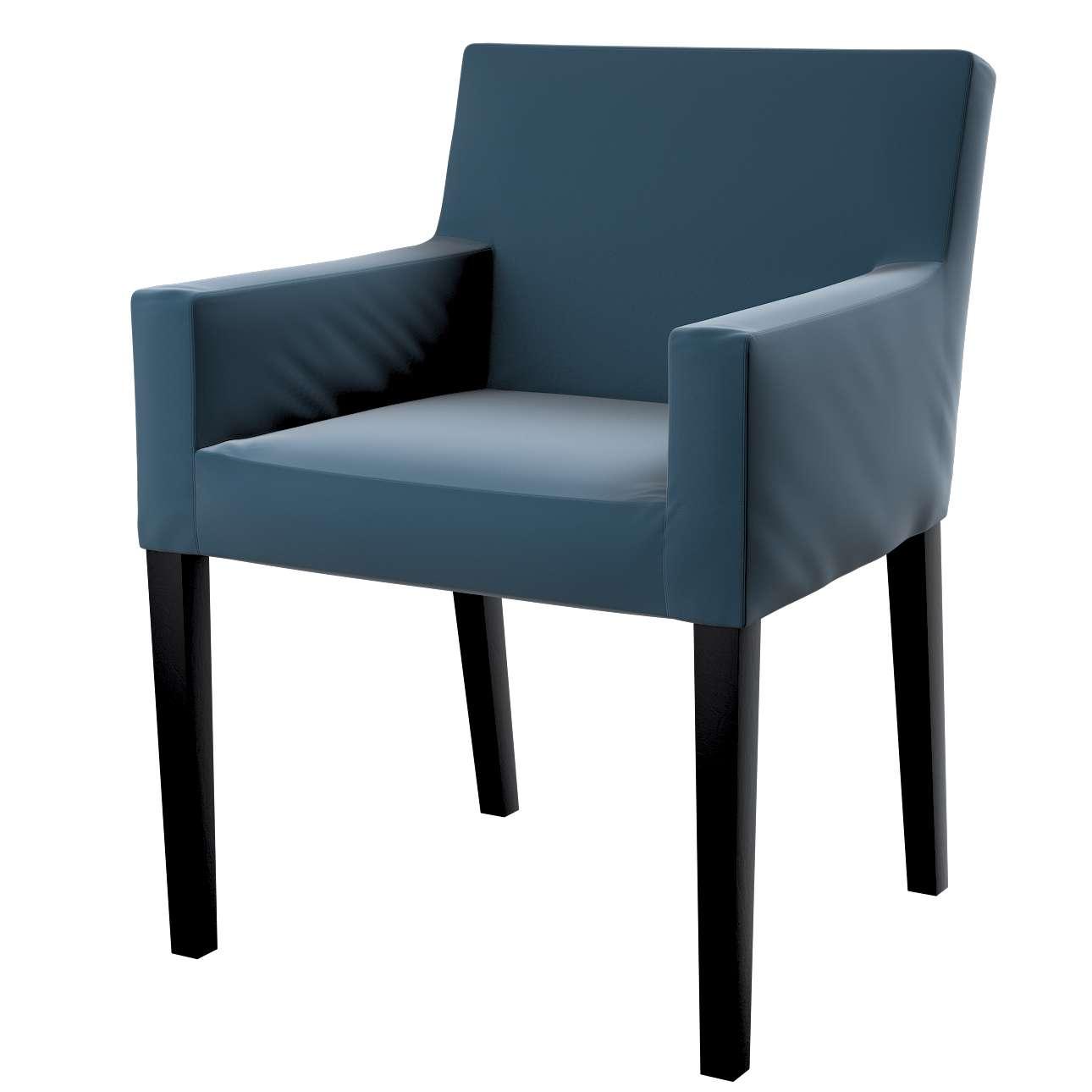 Návlek na stoličku s opierkami Nils V kolekcii Velvet, tkanina: 704-16