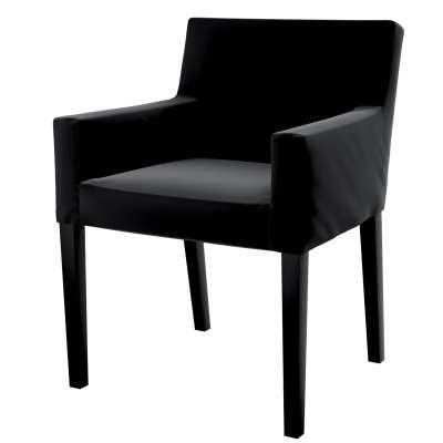 Nils chair cover 704-17 black Collection Velvet