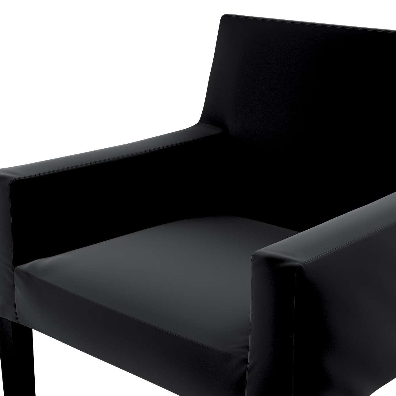 Návlek na stoličku s opierkami Nils V kolekcii Velvet, tkanina: 704-17