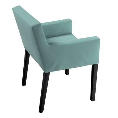 Návlek na stoličku s opierkami Nils 704-18 Mentolová Kolekcia Velvet