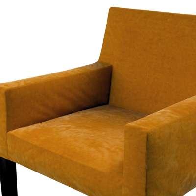 Návlek na stoličku s opierkami Nils V kolekcii Velvet, tkanina: 704-23