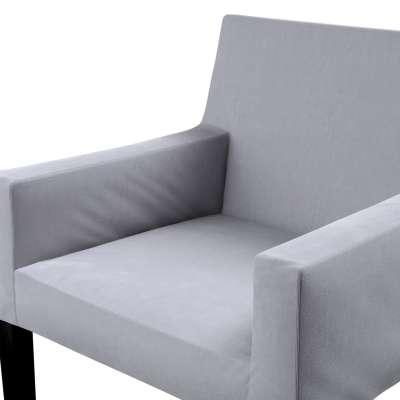 Návlek na stoličku s opierkami Nils V kolekcii Velvet, tkanina: 704-24