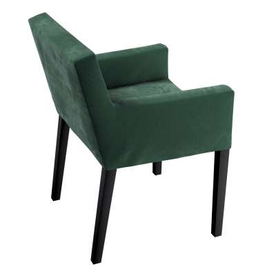 Nils chair cover 704-25 moss green Collection Velvet