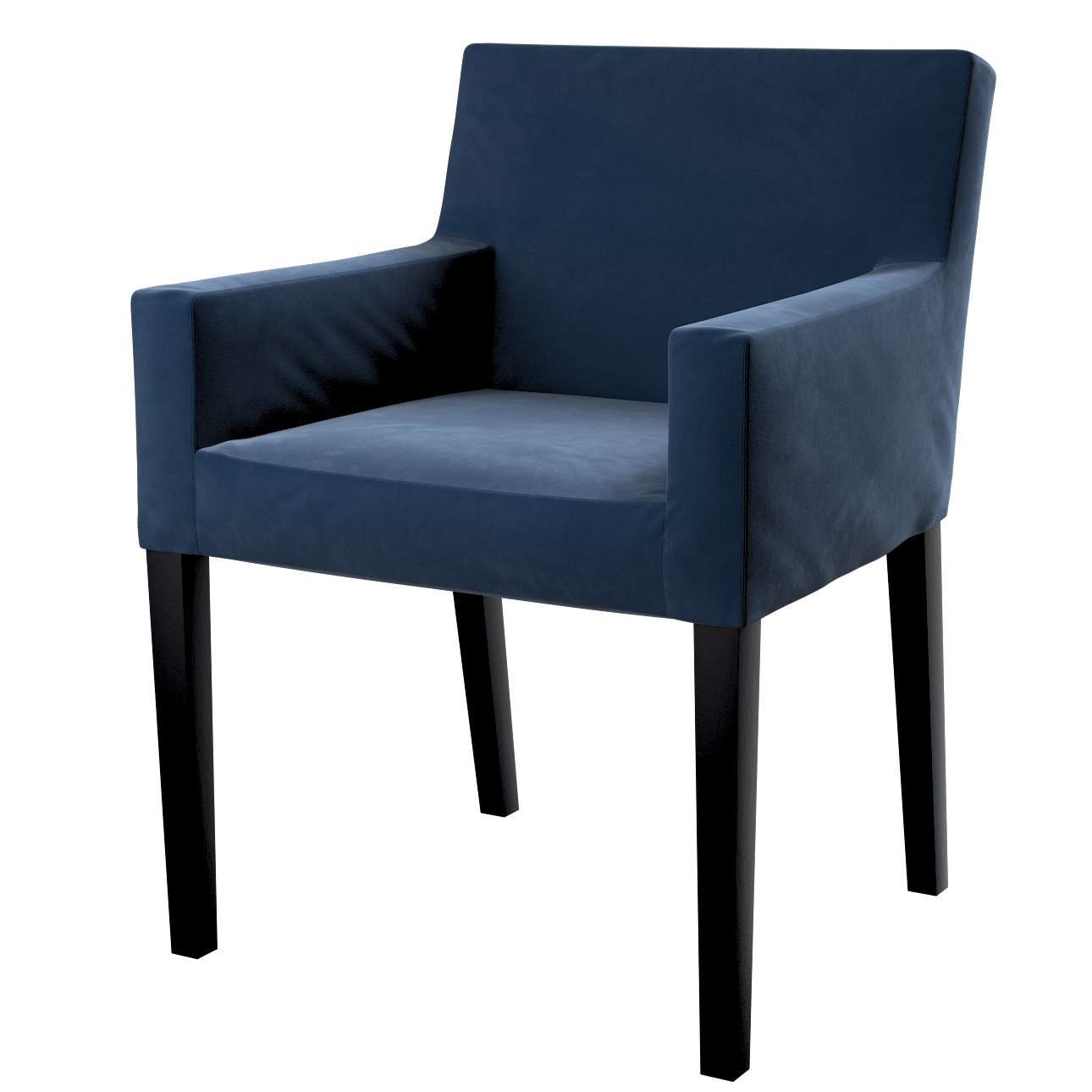 Návlek na stoličku s opierkami Nils V kolekcii Velvet, tkanina: 704-29