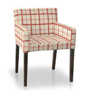 Sukienka na krzesło Nils krzesło Nils w kolekcji Avinon, tkanina: 131-15
