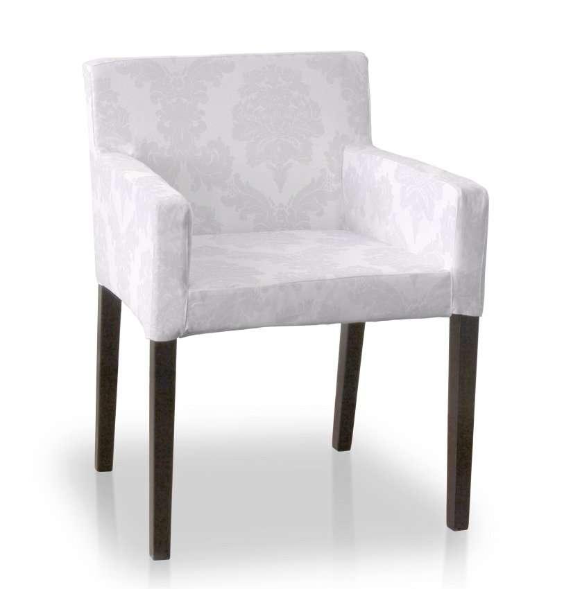 Sukienka na krzesło Nils krzesło Nils w kolekcji Damasco, tkanina: 613-00