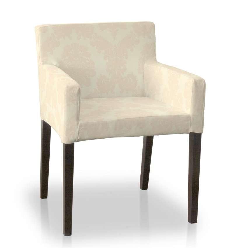 Sukienka na krzesło Nils krzesło Nils w kolekcji Damasco, tkanina: 613-01