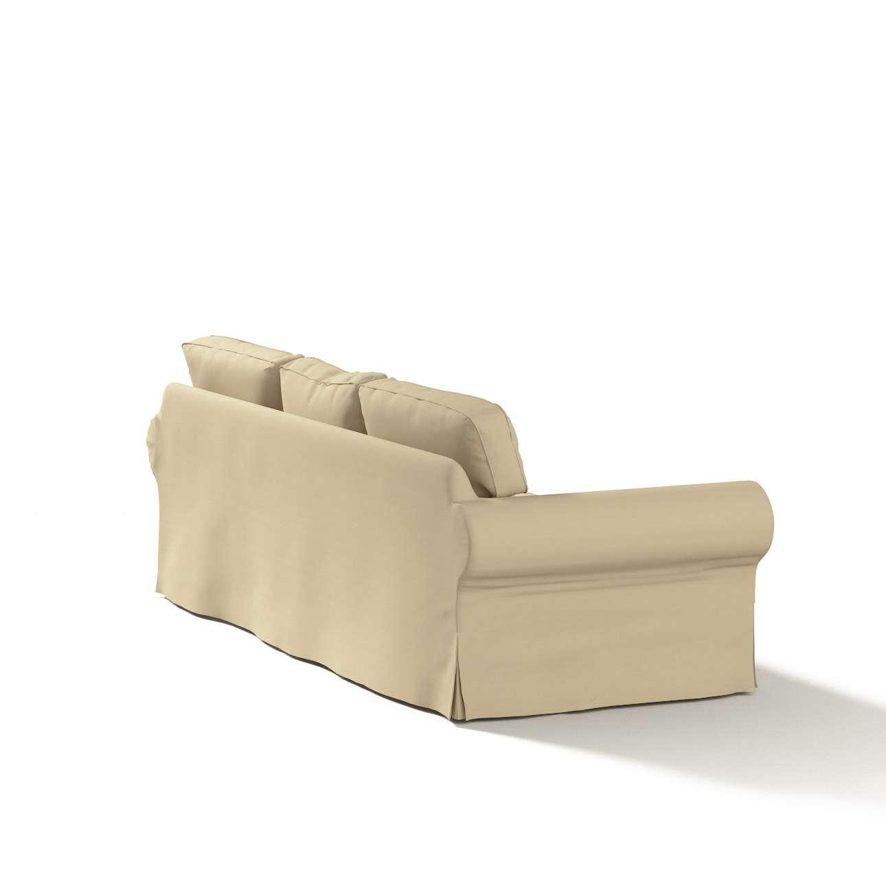 Ektorp 3-Sitzer Schlafsofabezug neues Modell (2013) Ektorp 3-Sitzer, ausklappbar, neues Modell ( 2013) von der Kollektion Cotton Panama, Stoff: 702-01