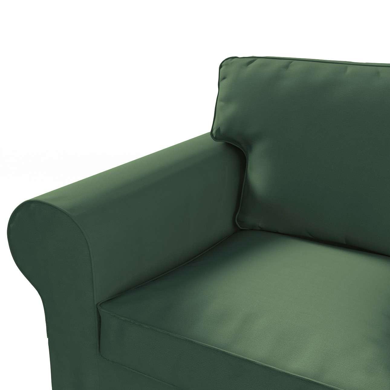 Pokrowiec na sofę Ektorp 3-osobową, rozkładaną w kolekcji Cotton Panama, tkanina: 702-06