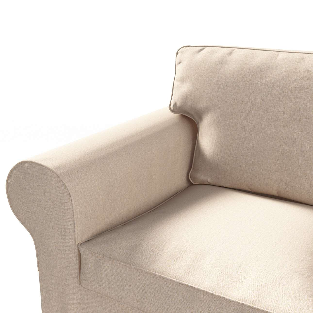 Pokrowiec na sofę Ektorp 3-osobową, rozkładaną NOWY MODEL 2013 w kolekcji Edinburgh, tkanina: 115-78