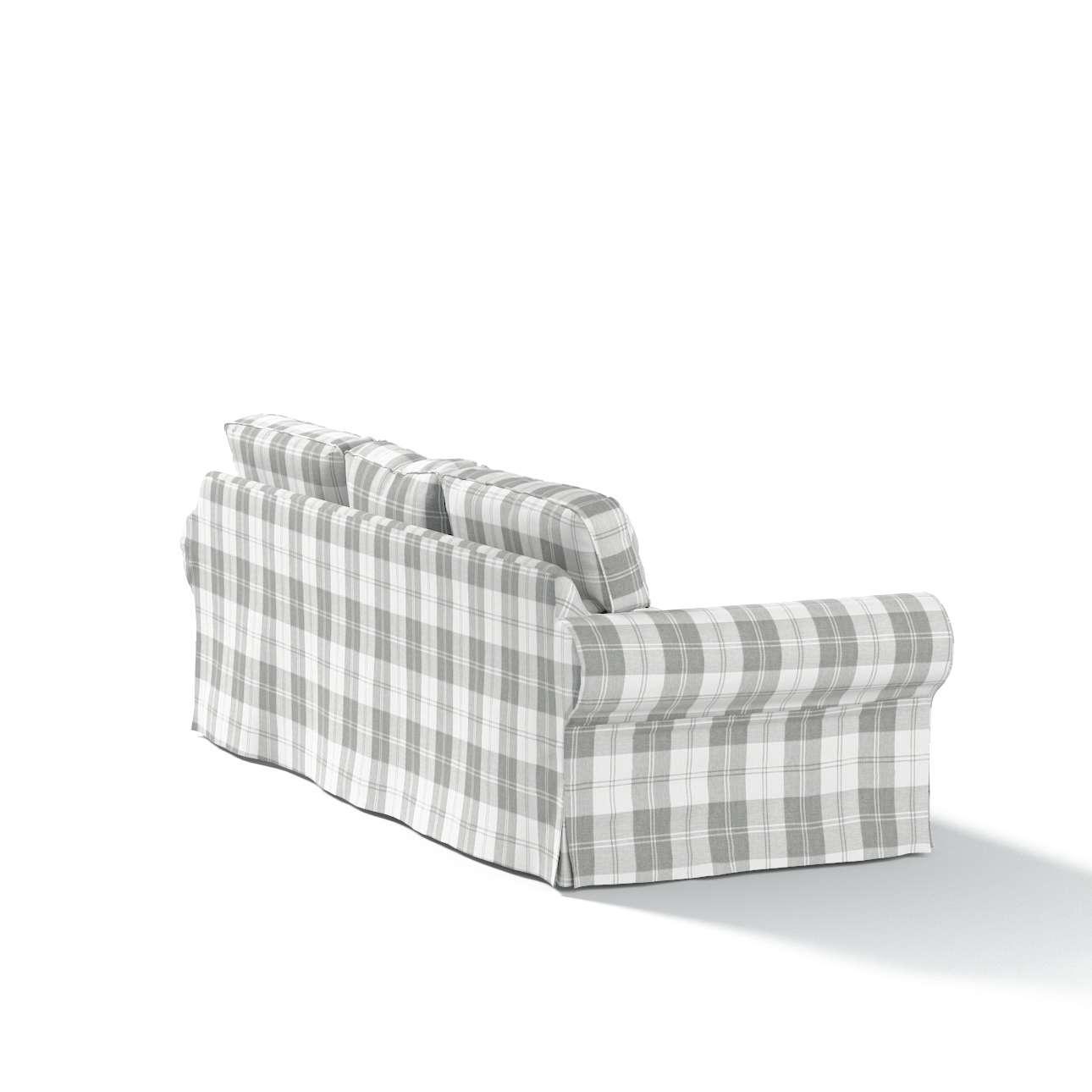 Pokrowiec na sofę Ektorp 3-osobową, rozkładaną w kolekcji Edinburgh, tkanina: 115-79
