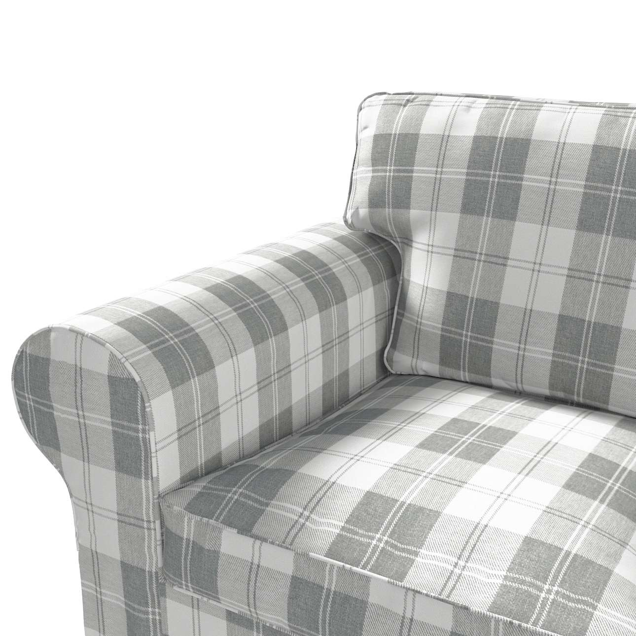 Ektorp 3-Sitzer Schlafsofabezug neues Modell (2013) von der Kollektion Edinburgh , Stoff: 115-79