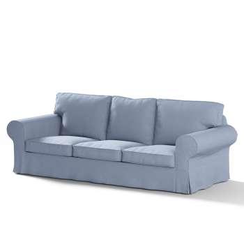 Pokrowiec na sofę Ektorp 3-osobową, rozkładaną NOWY MODEL 2013 w kolekcji Chenille, tkanina: 702-13