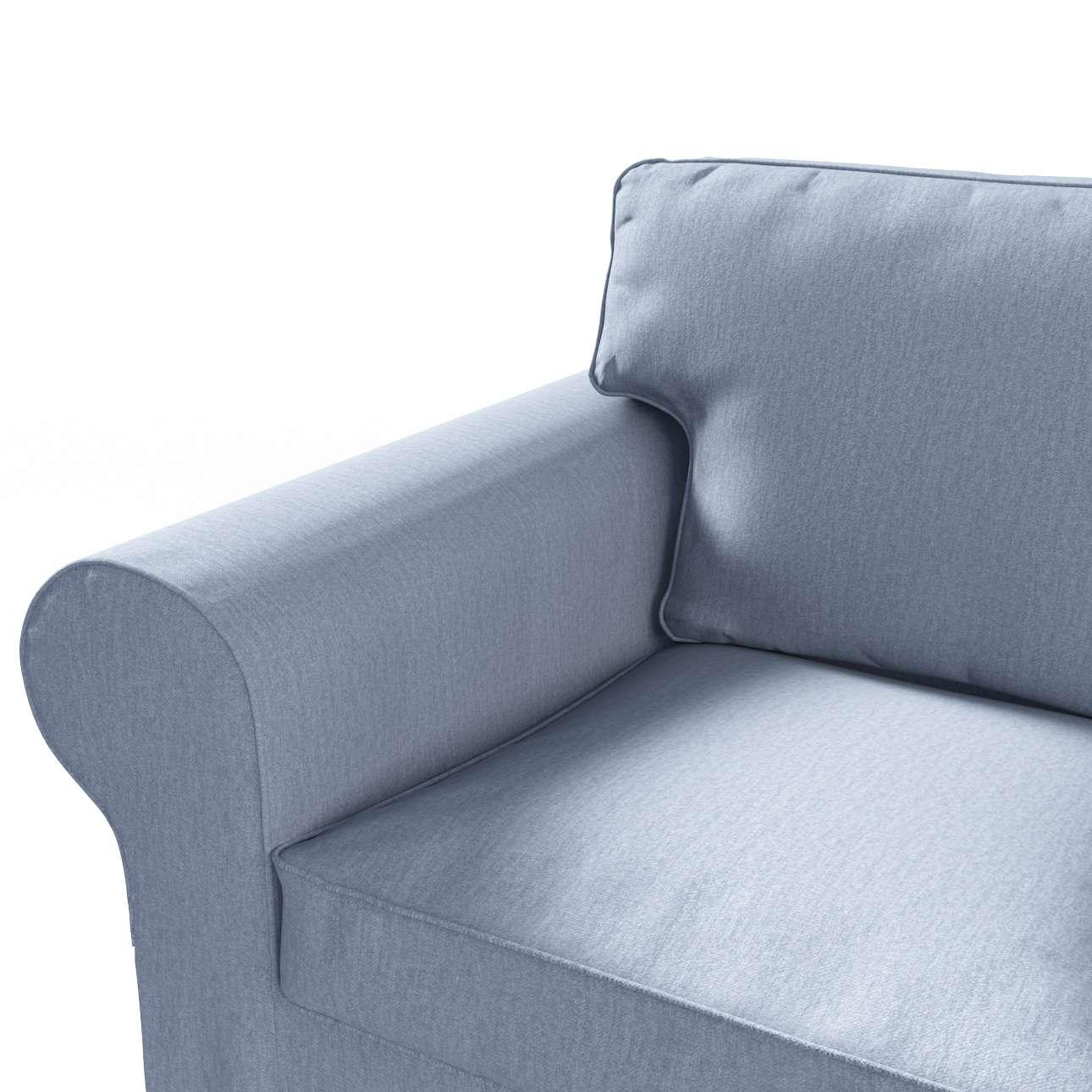 Pokrowiec na sofę Ektorp 3-osobową, rozkładaną w kolekcji Chenille, tkanina: 702-13