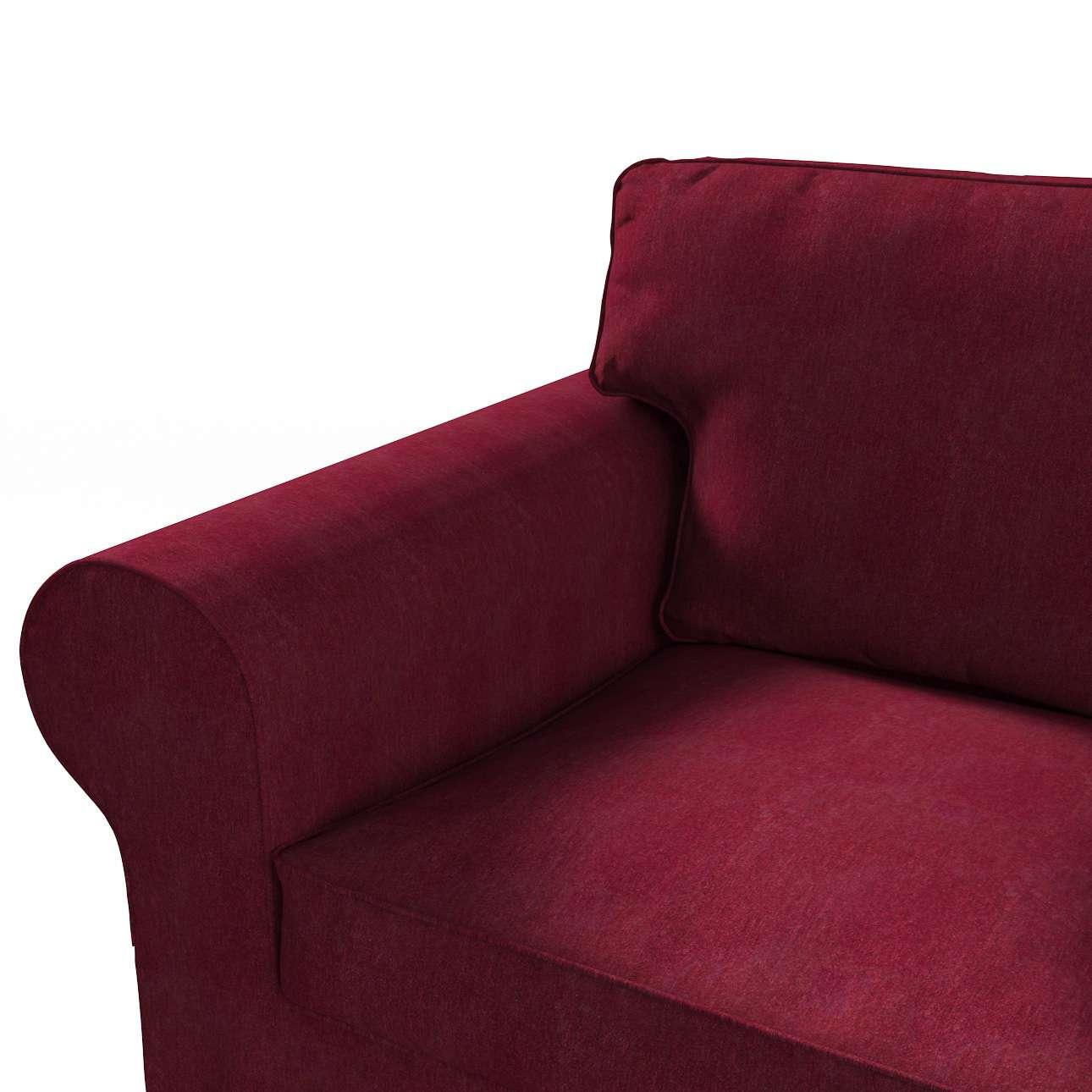 Pokrowiec na sofę Ektorp 3-osobową, rozkładaną NOWY MODEL 2013 w kolekcji Chenille, tkanina: 702-19