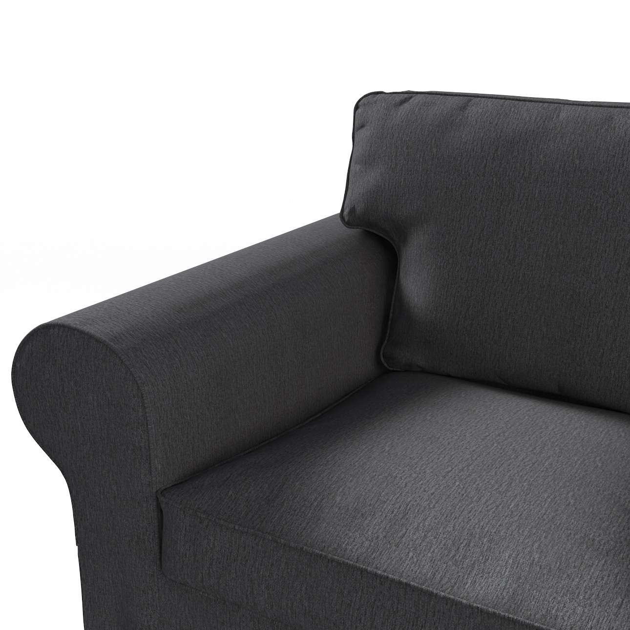 Pokrowiec na sofę Ektorp 3-osobową, rozkładaną NOWY MODEL 2013 w kolekcji Chenille, tkanina: 702-20