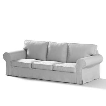 Pokrowiec na sofę Ektorp 3-osobową, rozkładaną NOWY MODEL 2013 w kolekcji Chenille, tkanina: 702-23