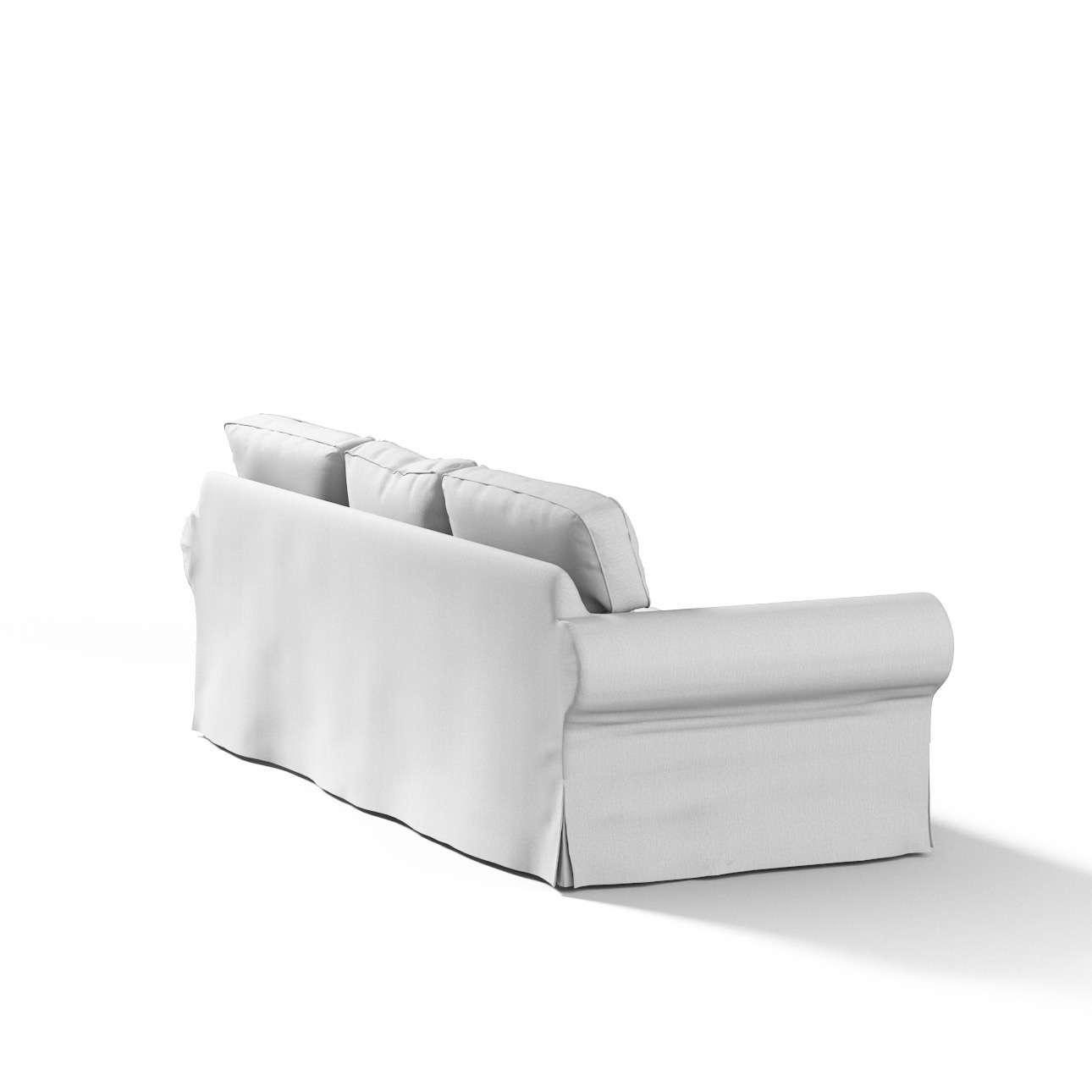 Pokrowiec na sofę Ektorp 3-osobową, rozkładaną w kolekcji Chenille, tkanina: 702-23