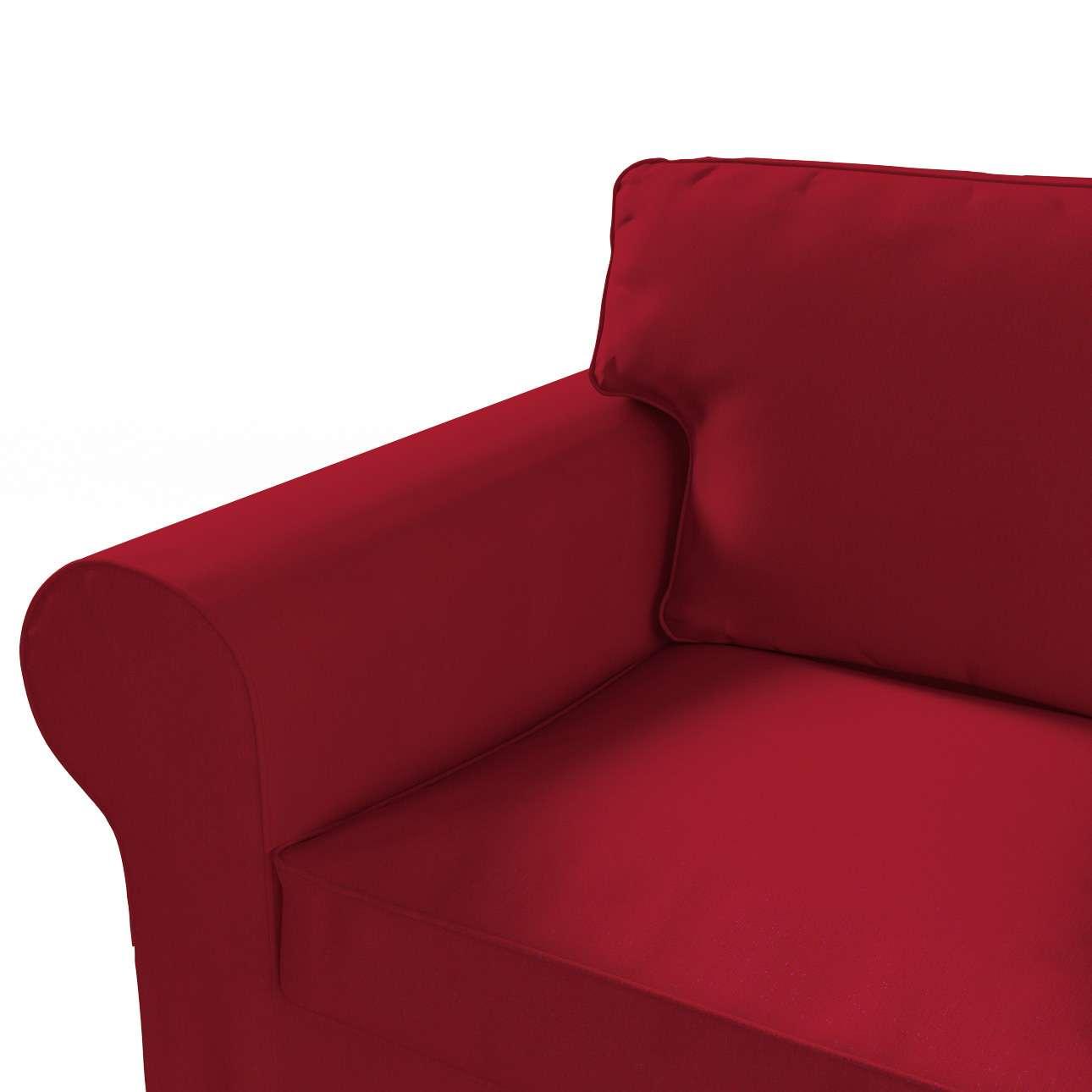 Pokrowiec na sofę Ektorp 3-osobową, rozkładaną w kolekcji Chenille, tkanina: 702-24