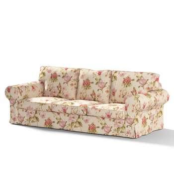Pokrowiec na sofę Ektorp 3-osobową, rozkładaną NOWY MODEL 2013 w kolekcji Londres, tkanina: 123-05