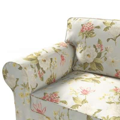 Pokrowiec na sofę Ektorp 3-osobową, rozkładaną w kolekcji Londres, tkanina: 123-65