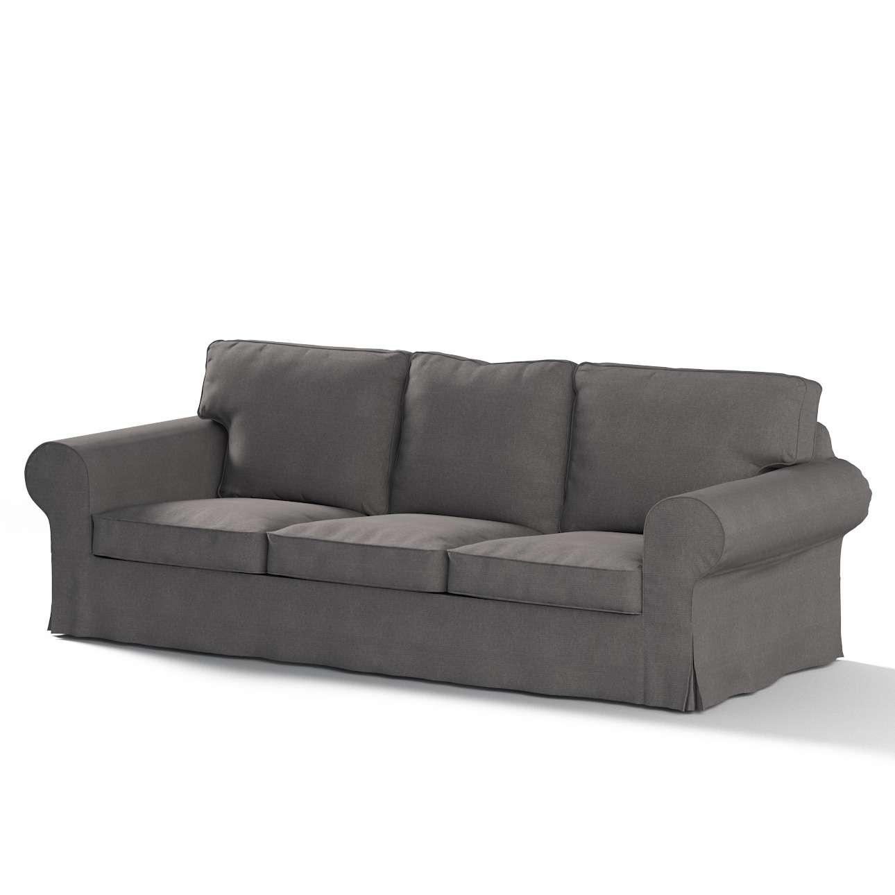 Pokrowiec na sofę Ektorp 3-osobową, rozkładaną w kolekcji Etna, tkanina: 705-35