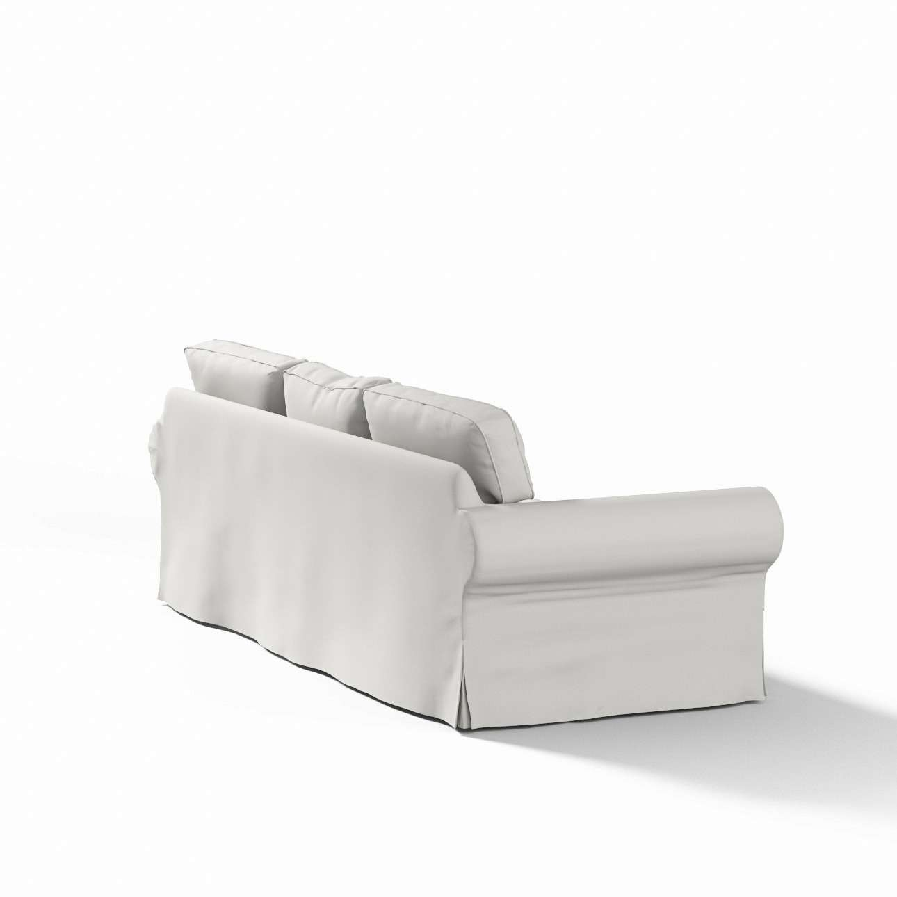 Pokrowiec na sofę Ektorp 3-osobową, rozkładaną w kolekcji Etna, tkanina: 705-90