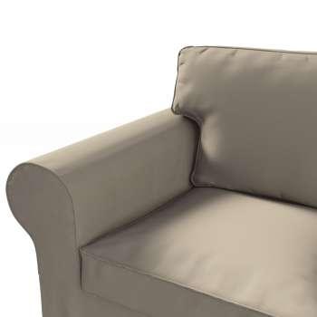 Pokrowiec na sofę Ektorp 3-osobową, rozkładaną NOWY MODEL 2013 Ektorp 3-os rozkładany nowy model 2013 w kolekcji Cotton Panama, tkanina: 702-28