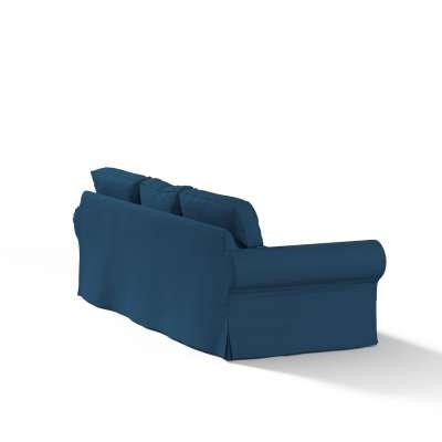 Pokrowiec na sofę Ektorp 3-osobową, rozkładaną w kolekcji Cotton Panama, tkanina: 702-30