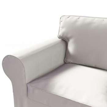 Pokrowiec na sofę Ektorp 3-osobową, rozkładaną NOWY MODEL 2013 w kolekcji Cotton Panama, tkanina: 702-31