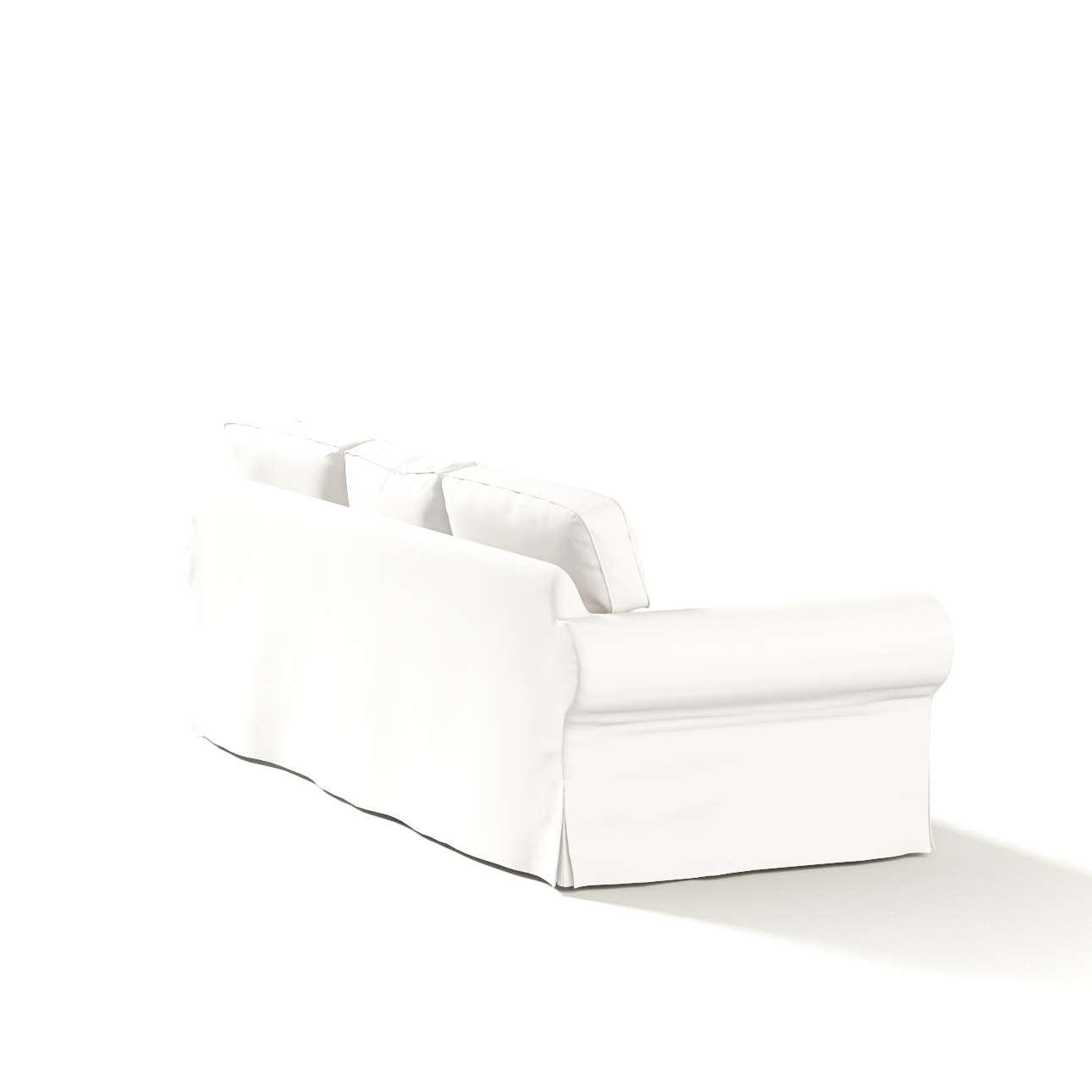 Pokrowiec na sofę Ektorp 3-osobową, rozkładaną NOWY MODEL 2013 Ektorp 3-os rozkładany nowy model 2013 w kolekcji Cotton Panama, tkanina: 702-34