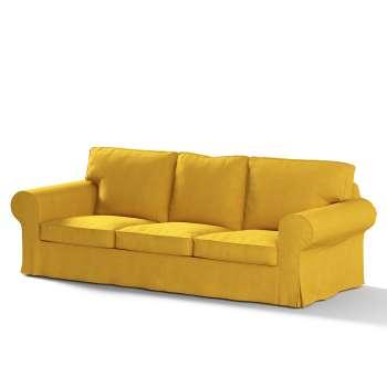 Pokrowiec na sofę Ektorp 3-osobową, rozkładaną w kolekcji Etna, tkanina: 705-04