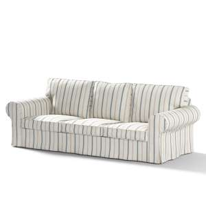 Pokrowiec na sofę Ektorp 3-osobową, rozkładaną NOWY MODEL 2013 Ektorp 3-os rozkładany nowy model 2013 w kolekcji Avinon, tkanina: 129-66